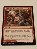 Song-Mad Treachery Ruins x4 mint 4 cards Magic the Gathering MTG Zendikar Rising