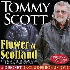 TOMMY SCOTT 'FLOWER OF SCOTLAND' CD & DVD SET (2015)