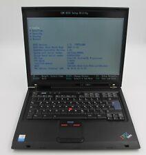 IBM Thinkpad T43  Intel Pentium M 1,83GHz  2GB Ram 40GB HDD Generalüberholt