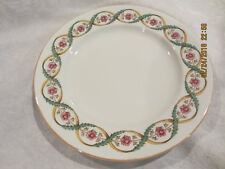 "Antique Spode Copelands China England 8"" Salad Plate Purple Flower"