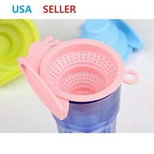 Silicone Tea Leaves Strainer Tea Filter Infuser Multi Use Sink Strainer Drainer