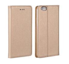 ^ HTC Desire 830 Smart Magnetico Custodia Cover Borsa Astuccio Case LIBRO ORO