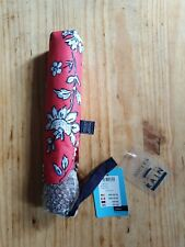 JOULES UMBRELLA BROLLLY RED FLORAL £21.95 RIGHT AS RAIN