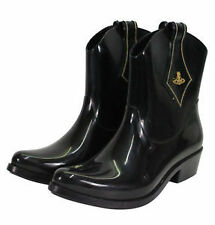 Women's Synthetic Boots without Pattern