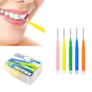 60pcs/lot  Oral Clean Hygiene Toothpick Interdental Brush Dental Floss Teeth