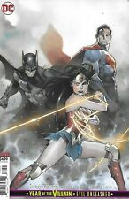 Justice League Comic Issue 32 Cover B Variant Coipel Modern Age 2019 Snyder DC
