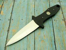 VINTAGE BLACKIE COLLINS GERBER USA BLACK BOOT DAGGER FIGHTING KNIFE KNIVES