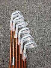 NEW Auth Srixon Z 565 Forged Irons 5-PW Miyazaki 8S 6554 Stiff Flex Graphite LH