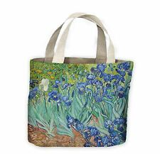 Vincent VAN GOGH IRIS Tote Shopping Bag for Life