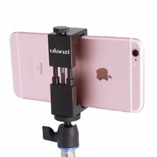 Metallo del treppiede con Cold Shoe mount-ulanzi smartphone Holder video (e1J)