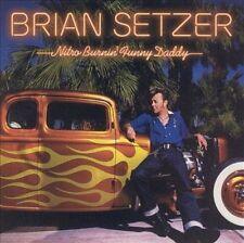 BRIAN SETZER  - Nitro Burnin' Funny Daddy (CD, 2003, 2 Discs, Surfdog) Straycats