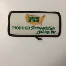 Pioneer Transportation Systems Inc.  Patch Iron on