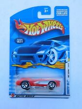 Hot Wheels 2002 First Editions Corvette SR-2 9 of 42 collector no. 021 red