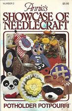 Crochet pattern Annie's Showcase of Needlecraft Vol 2 crochet patterns