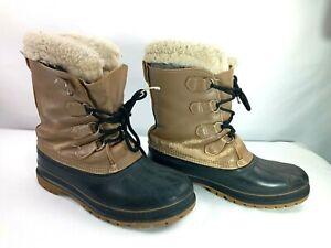 Sorel Polar Men's Boots Insulated Waterproof Snow Boots Sz 8 Steel Shank