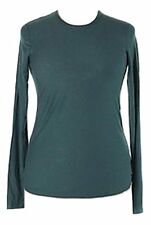 JAMES PERSE Long Sleeve CREW NECK Top WSVH3180CU GREEN ( 4 ) Free Shipping