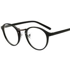 Vintage Round Nerd Unisex Eyewear Clear Lens Fake Eye Glasses Eyeglasses Frame