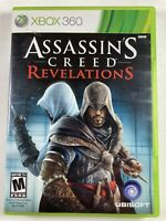 Assassin's Creed: Revelations (Microsoft Xbox 360, 2011) Complete FREE SHIPPING