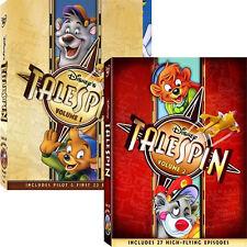 Talespin . Volume 1 + 2 . Vol. 1-2 . Käpt'n Balu . Walt Disney . 3 DVD . NEU OVP