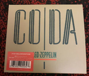 Led Zeppelin - Coda 3 CD Deluxe Edition