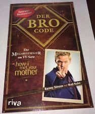 Der Bro Code - Buch zur TV-Serie 'How I Met Your Mother', Taschenbuch, neuwertig