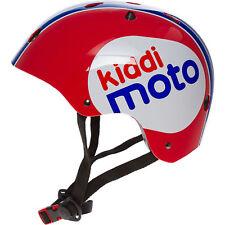KIDDIMOTO Red Blue & White Kids Helmet, Medium, 53-58 cm, New