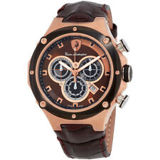 Lamborghini Metropolitan Black Dial Mens Chronograph Watch 4671