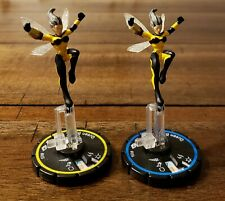 Heroclix DC Unleashed Queen Bee Set of 2 # 055 # 056 Pre-owned No Card