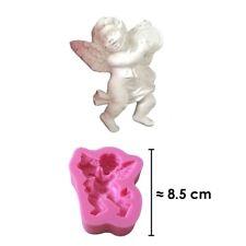 Moule silicone 3D Ange Tambour pour pâte à sucre, cake design, décoration