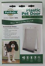 New listing PetSafe Premium Plastic Pet Door White, Small Ppa00-10958 #9582 New