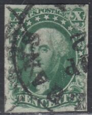 USA Scott #15 10ct Type III Used CV $160