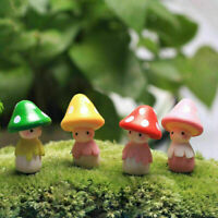 Miniatur Pilz Puppe Figur Blumentopf Fee Puppenhaus Y3T3 Garten-Ornament De Y8C0