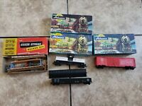 Lot Of HO Athearn Trains Vintage Erie 1663, Tank Car 1551, 50ft DD Box 1311