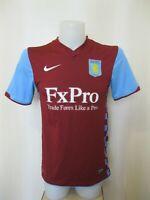 Aston Villa 2010/2011 home Size S Nike football shirt jersey maillot soccer