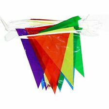 3 PC Colorful Pennant Flag Banner Festival Wedding Party Decoration Supplies LOT