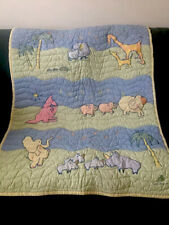 Baby Quilt With Animal Prints