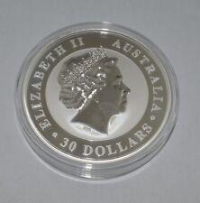 2013 Elizabeth II Silver Coin $30 1kg .999 Silver Australian Kookaburra SAF152RZ