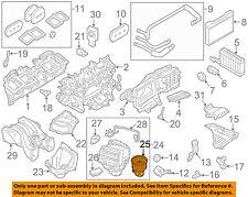 BMW OEM 09-15 750Li-Blower Motor 64119242607