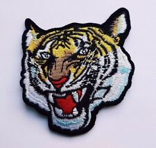 Tiger Head Iron On Patch Sew On Transfer Fancy Dress patch High Quality Detail