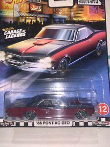 RARE HOT WHEELS BOULEVARD '66 Pontiac GTO #12 PREMIUM REAL RIDERS 2020