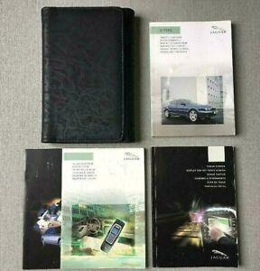 JAGUAR X-TYPE HANDBOOK OWNERS MANUAL WALLET 2001-2007