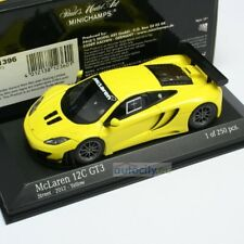 MINICHAMPS MCLAREN MP4-12C GT3 STREET YELLOW 437121396