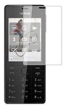 2 x Clear LCD Pellicola Proteggi Schermo Risparmiatore Per Nokia 515