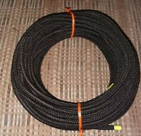 "3/16"" x 100' Foot Coil Premium Black MFP Cover Bungee / Shock Cord / Made USA!"