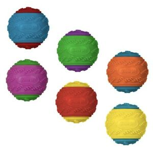 3 x Scooby-Doo Durable Squeaky Dog Toy Ball New  FREE POSTAGE U.K. SELLER