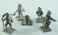 30mm Pewter or Lead - ECW French British Soldiers -War Hammer? RPG ?  -M14