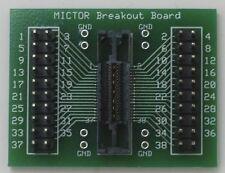 MICTOR Adapter Board 38-pin Logic Analyzer Breakout