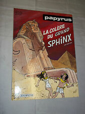 """PAPYRUS - LA COLERE DU GRAND SPHINX"" DE GIETER (1997) EDIT. ORIGINALE"