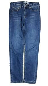 Indigo Rein Women's Skinny High Waist Ankle Blue Jeans Size 7 Stretch