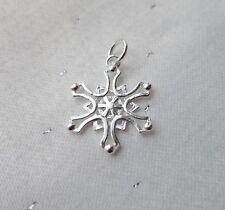 Fiocco di Neve Snow fascino 925 Argento Sterling